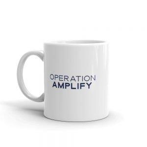 Operation Amplify Mug