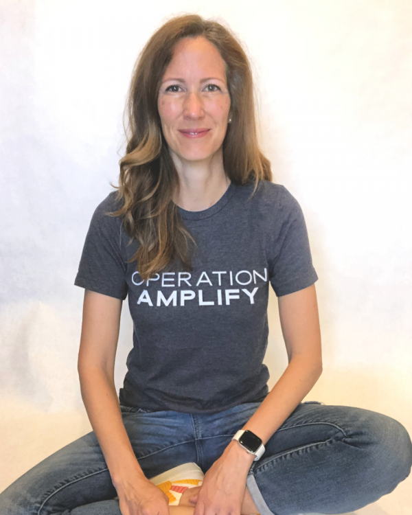 Operation Amplify Logo Tee