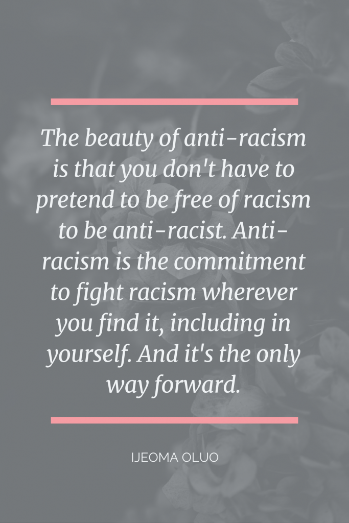 Beauty of anti-racism quote