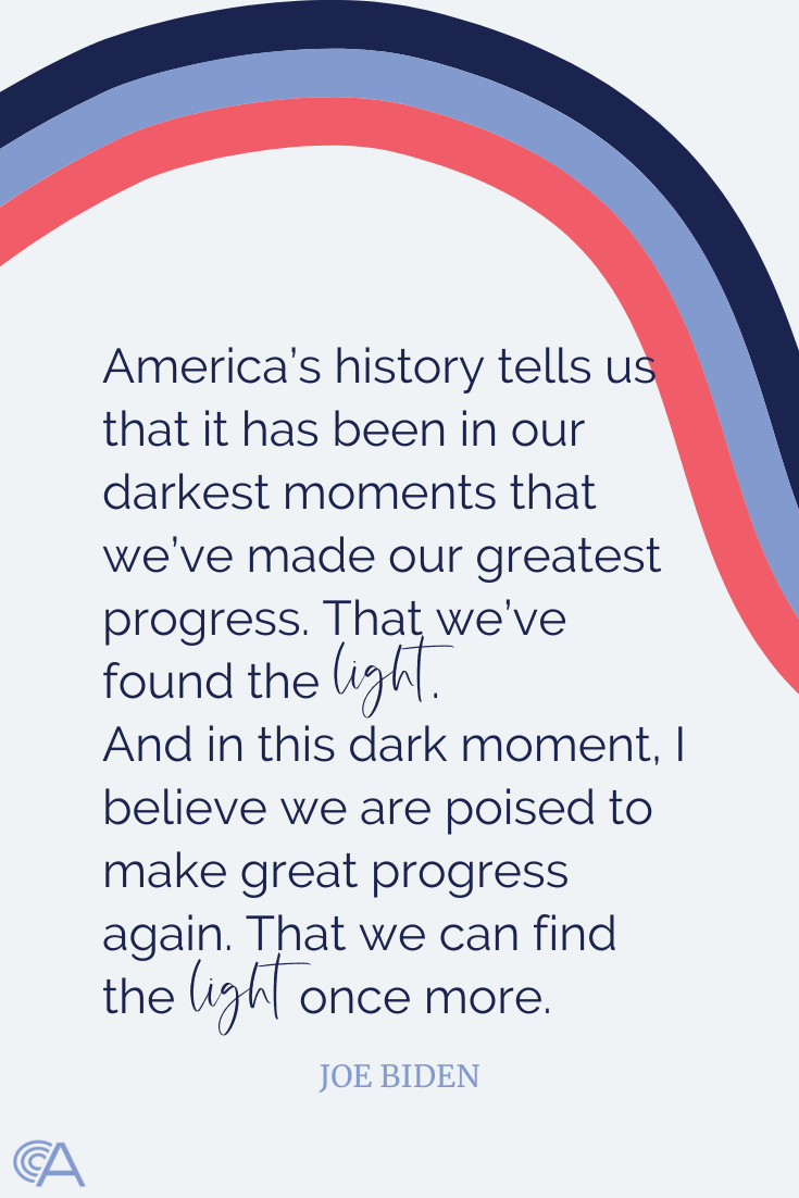 Joe Biden convention quote