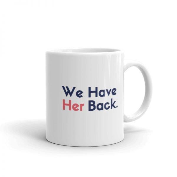 Vote Kamala VP back mug