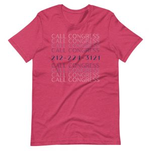 Call Congress Tee Shirt
