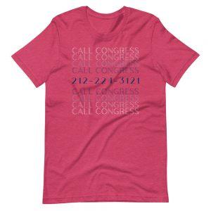 Call Congress Tee Shirt
