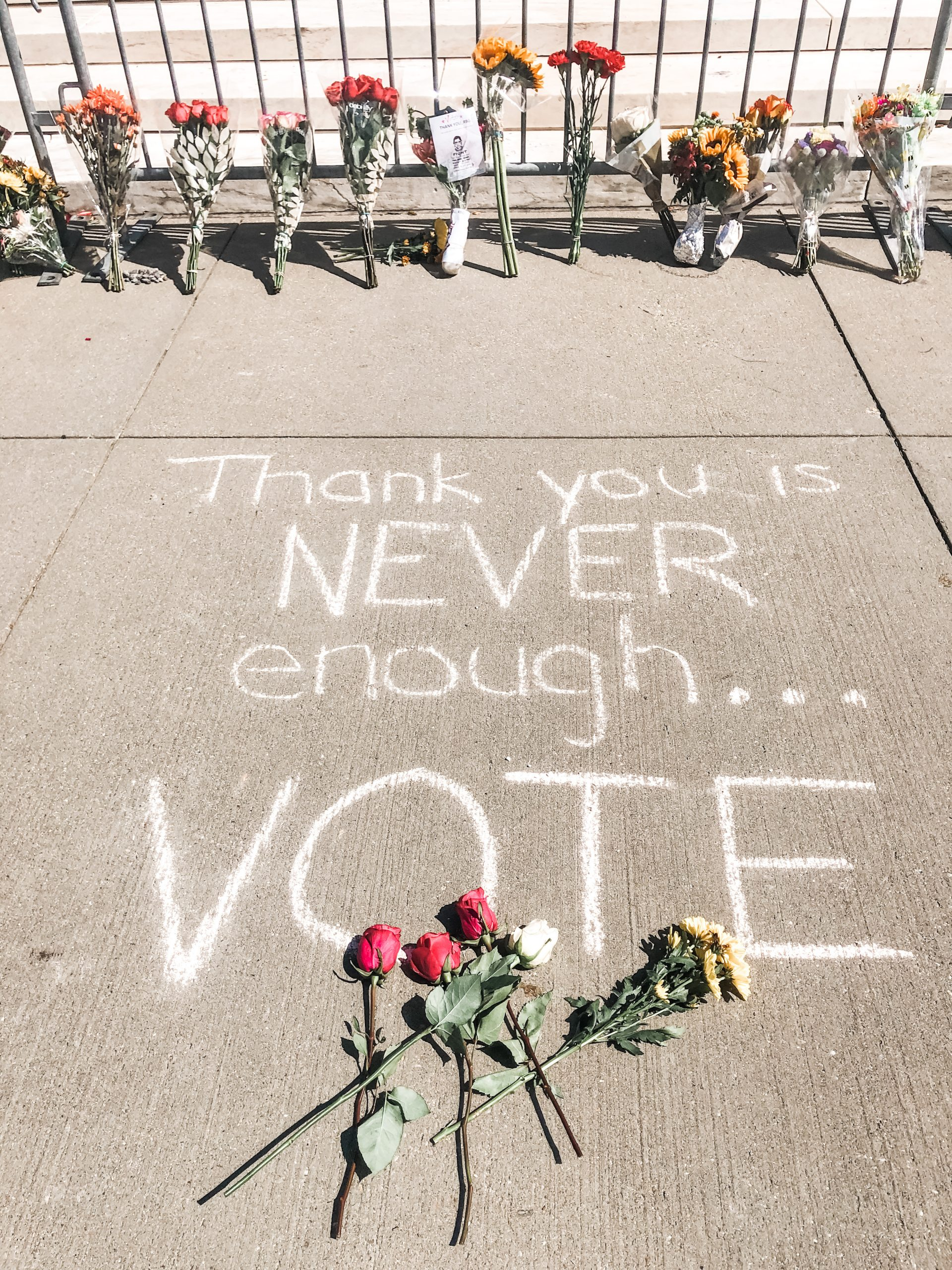 RBG Thank you is never enough Vote