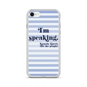 I'm Speaking Kamala Harris Stripes iPhone Case