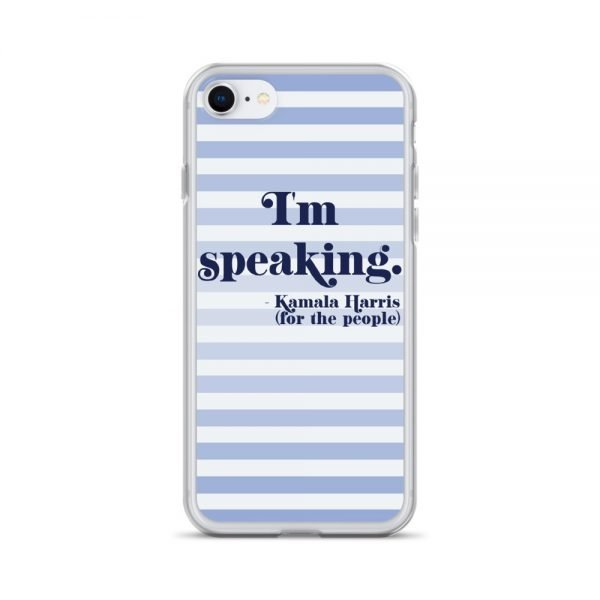 I'm Speaking Kamala Harris Stripes iPhone Case