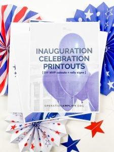 Inauguration Celebration Printable