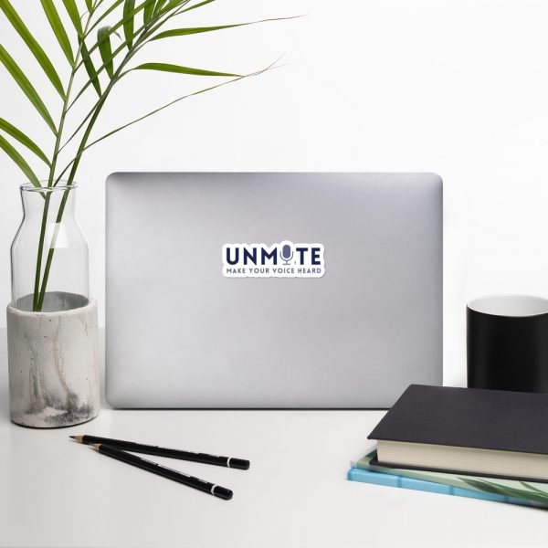 Unmute Sticker