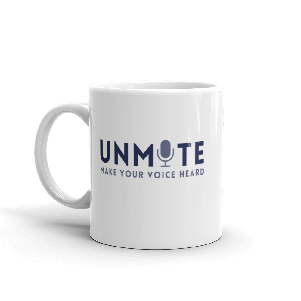 Unmute Zoom Mug