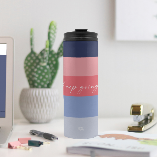 Keep Going Thermal Tumbler OA